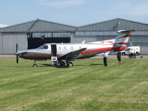 Návštěva Pilatusu PC-12